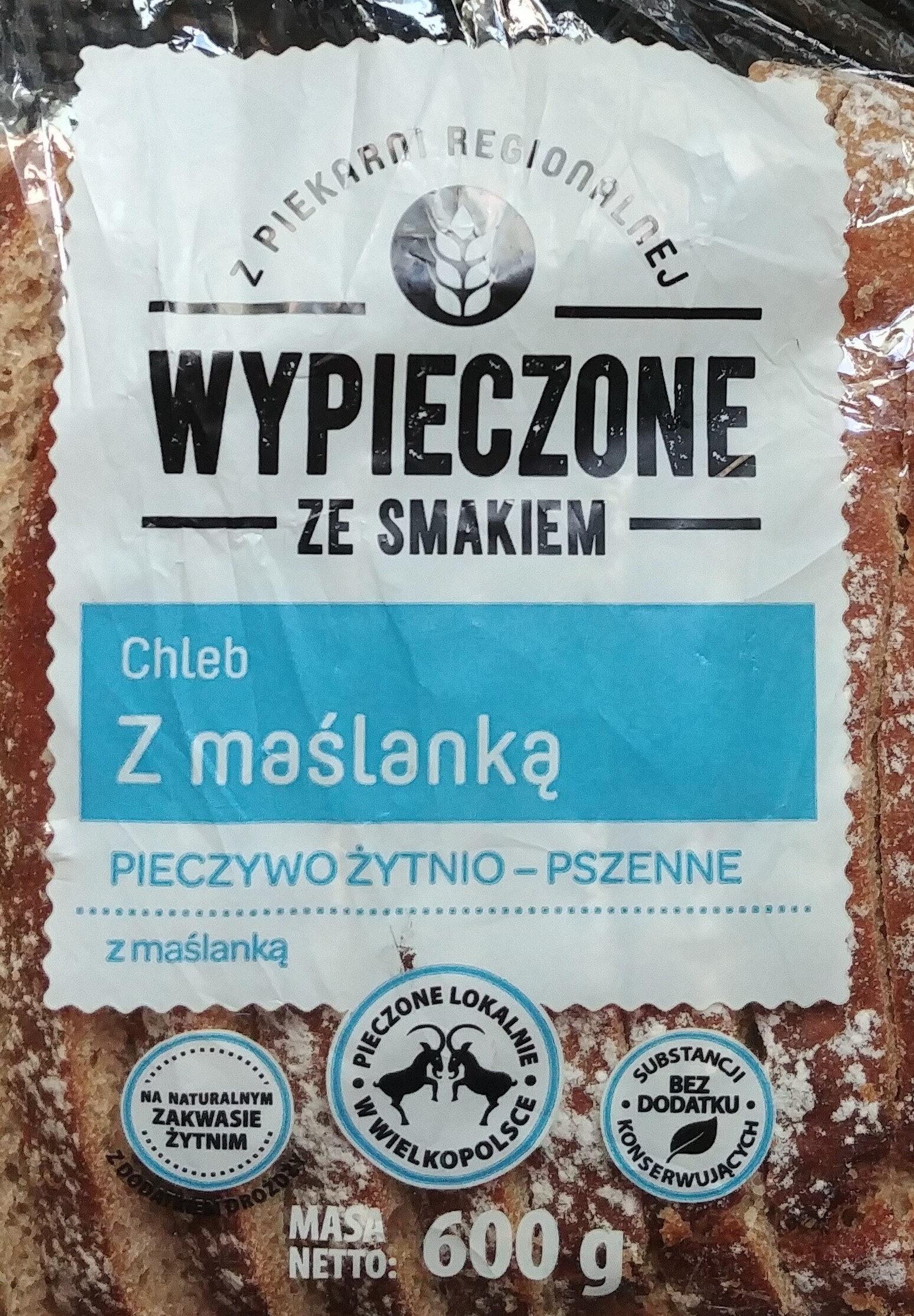Pieczywo żytnio-pszenne z maślanką - Product - pl