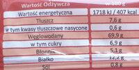 Wafle pomidorowe z ziołami prowansalskimi i chili - Wartości odżywcze - pl