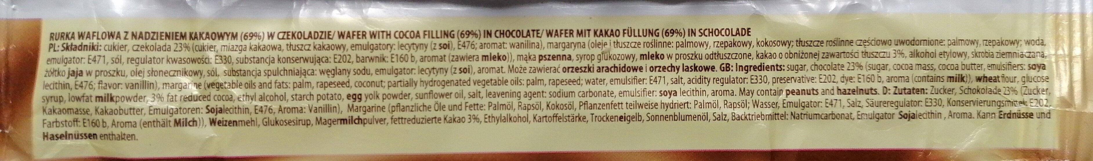 Sękacz kakaowy. - Składniki - pl