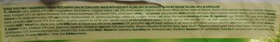 Sękacz o smaku orzechowym - Ingredients