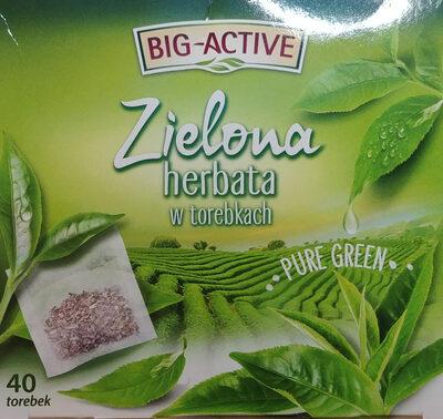 Zielona herbata w torebkach - Produkt - pl