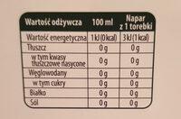 Herbata biała tajska cytryna, kwiat granatu - Wartości odżywcze - pl