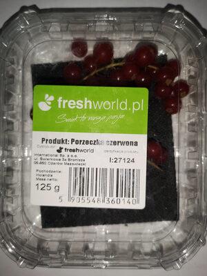 Czerwona porzeczka - Produkt