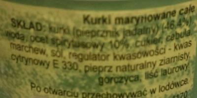 Kurki - Ingredients