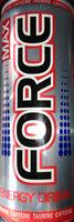 Max Force - gazowany napój energetyzujący z tauryną i kofeiną - Produkt - pl
