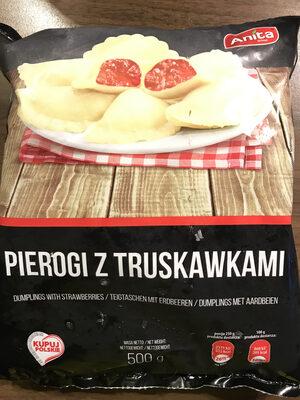 Pierogi Teigtaschen mit Erdbeeren - Product