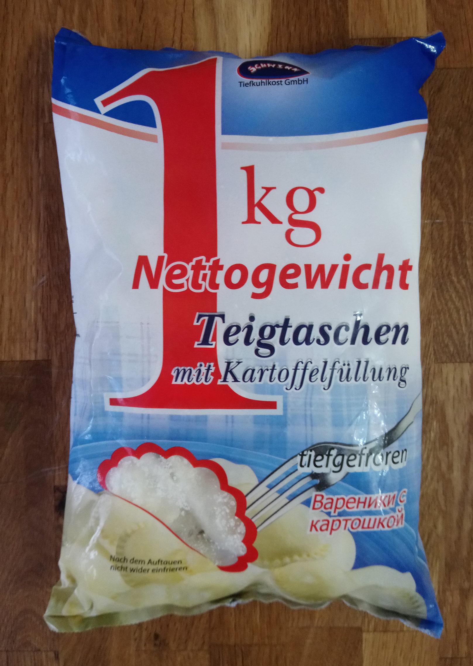 Teigtaschen mit Kartoffelfüllung - Produit - de