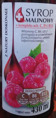 Syrop malinowy - Produkt