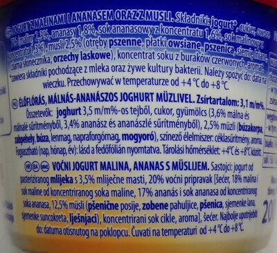 Jogobella - Ingredients - pl