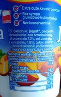Jogurt brzoskwiniowy - Składniki