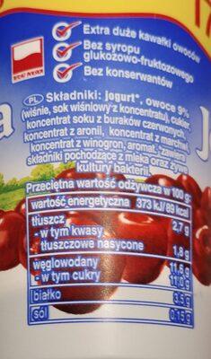 Jogurt wiśniowy - 2