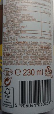 Napój kawowy na bazie pełnego mleka i śmietanki z aromatem waniliowym. - Nutrition facts - en