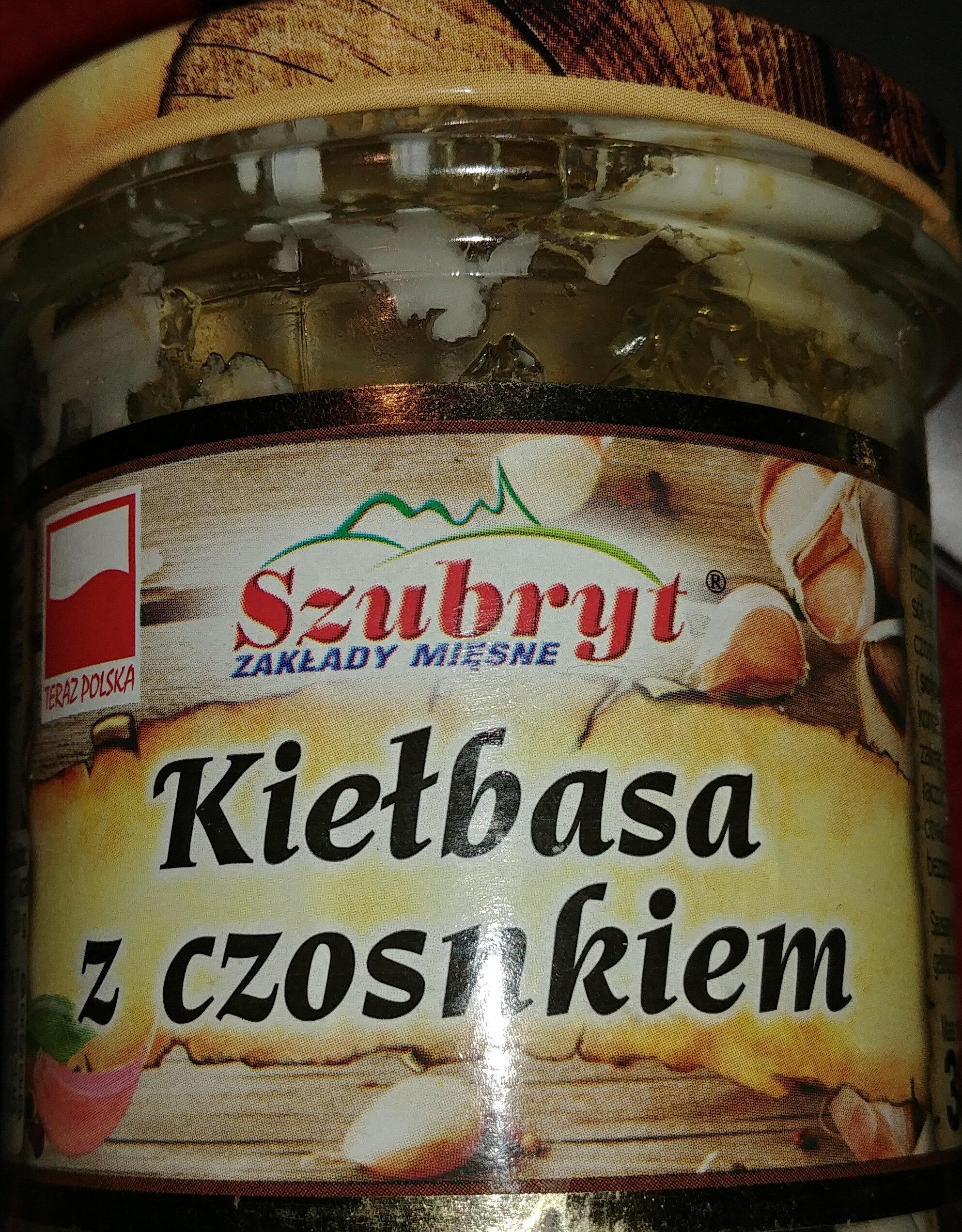 Kiełbasa z czosnkiem - Produkt - pl