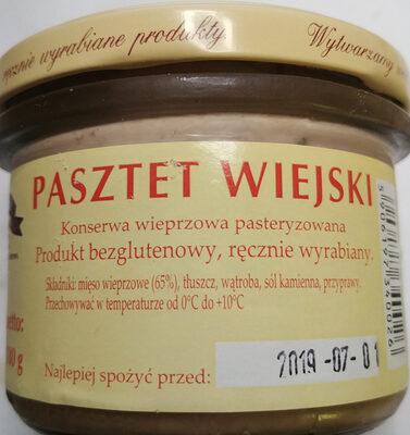 Pasztet wiejski - Produit - pl