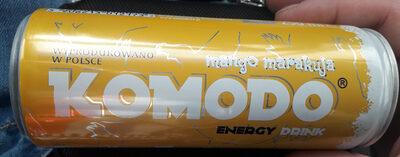 Gazowany napój energetyczny o smaku mango i marakui wzbogacony witaminami. - Produkt - pl