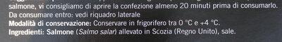 Salmone scozzese affumicato - Ingredients - it