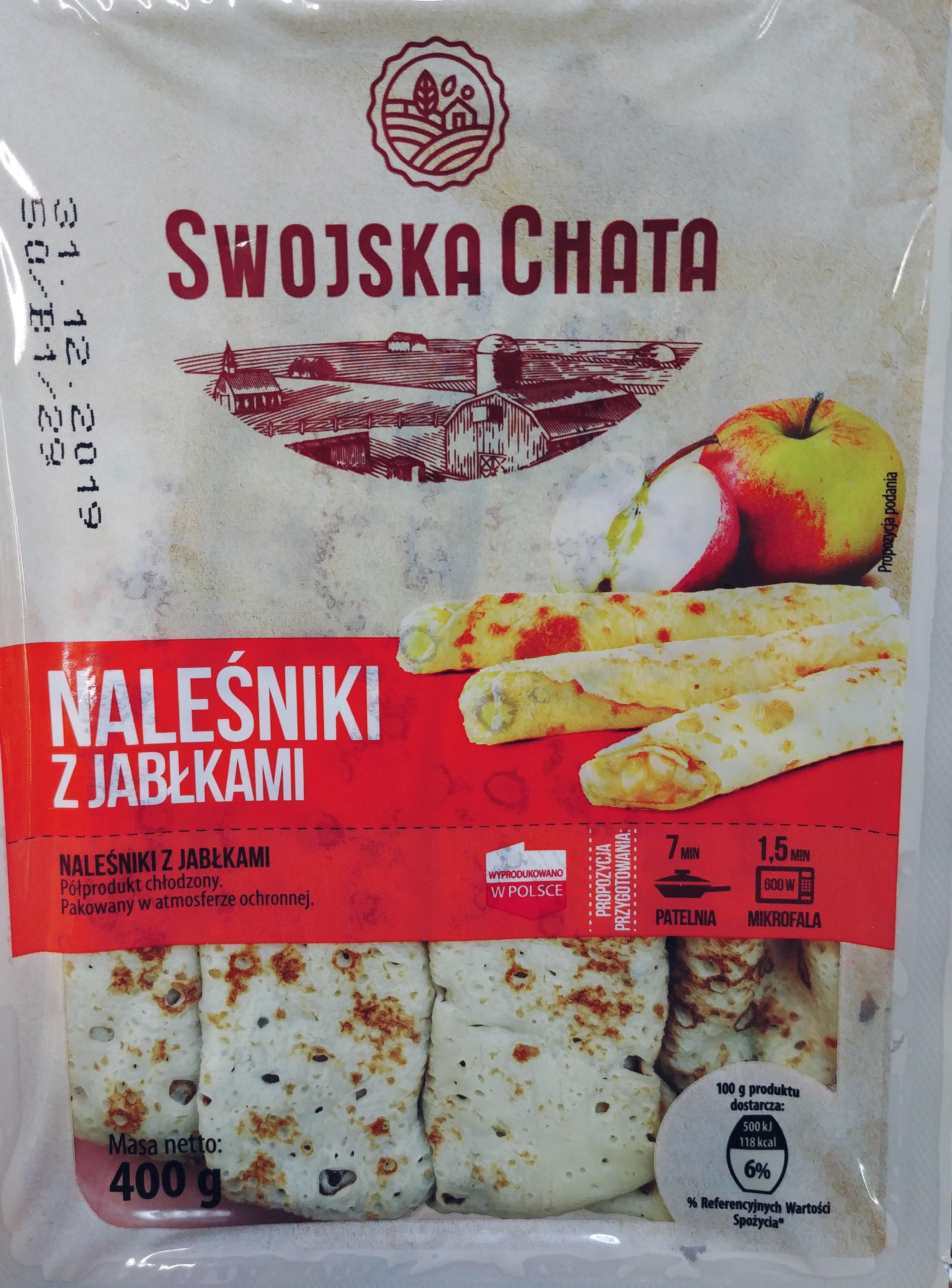 Naleśnik z jabłkami - Produkt - pl