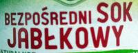 Bezpośredni Sok Jabłkowy - Składniki - pl
