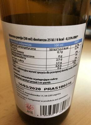 Ekologiczny Sok Aloes BIO - Składniki - pl