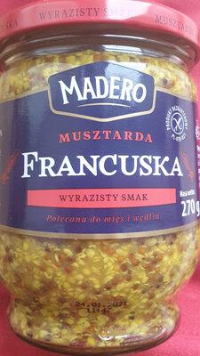Musztarda francuska - Produit - pl