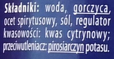 Musztarda Dijon - Ingredients