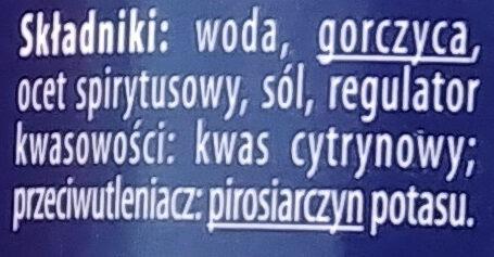 Musztarda Dijon - Składniki - pl