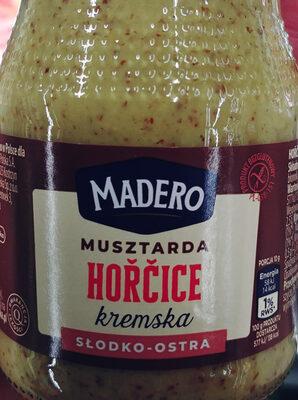 Horcice. Musztarda kremska - Produkt