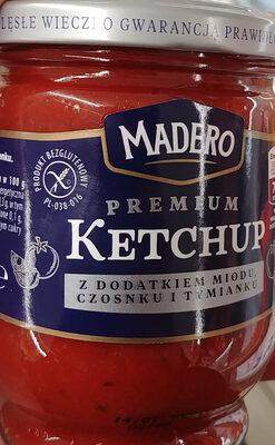 Ketchup z doatkiem miodu, czosnku i tymianku. - Produit - pl