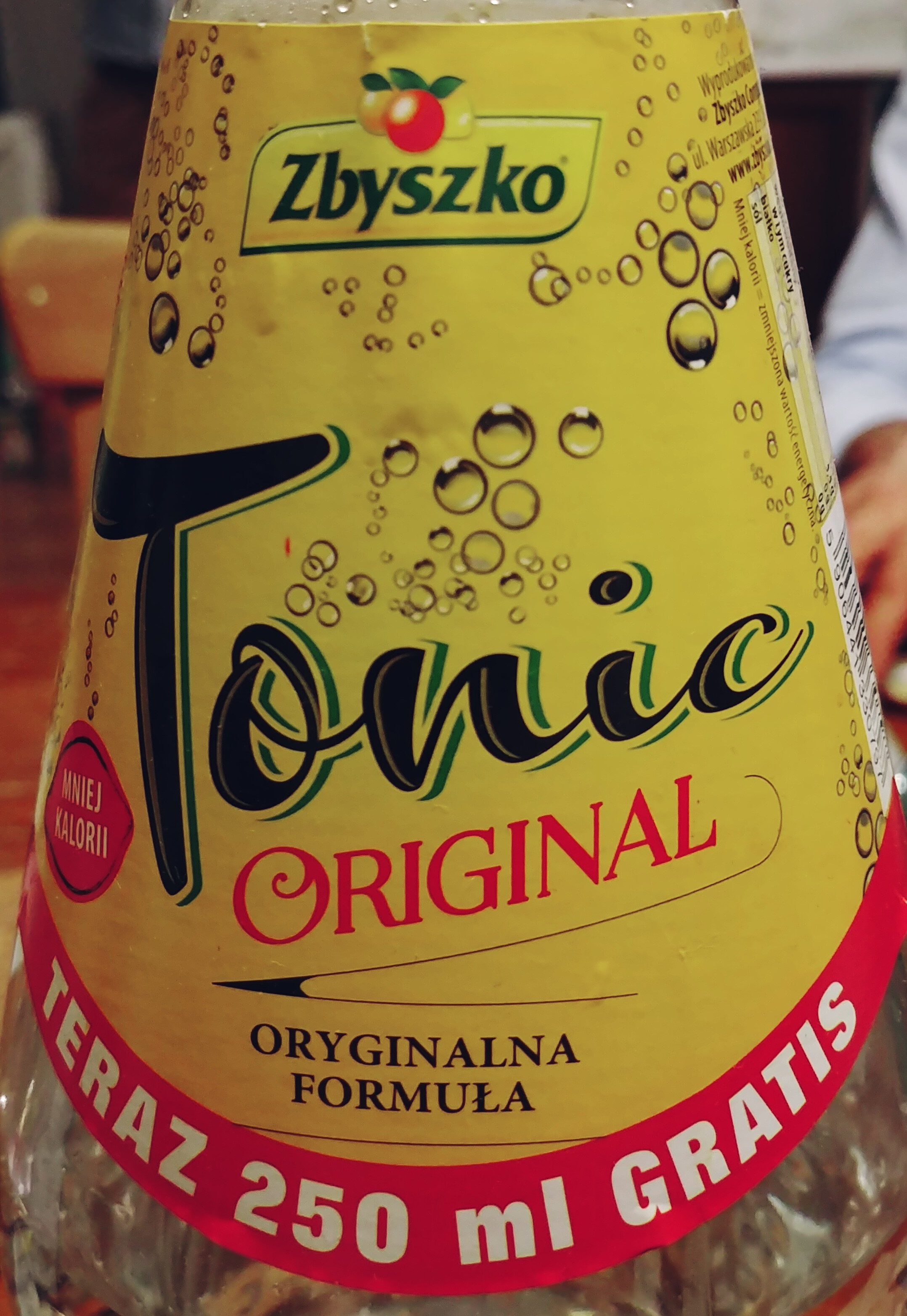 Napój gazowany tonic - Produkt