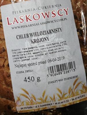 Chleb wieloziarnisty krojony - Wartości odżywcze - pl