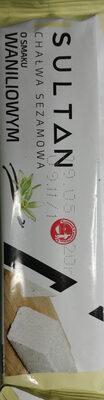 Chałwa sezamowa o smaku waniliowym - Produkt