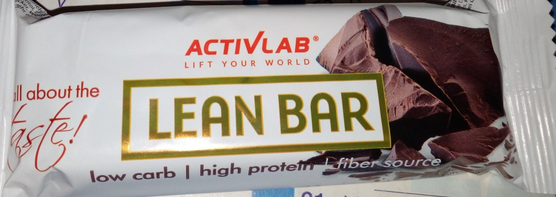 Lean bar chocolat - Product