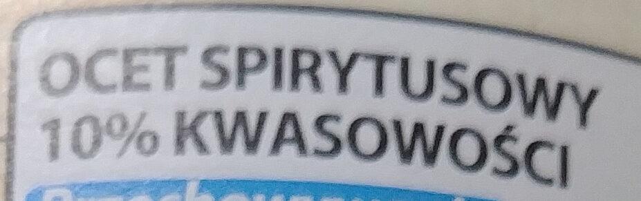 Ocet spirytusowy 10% - Ingrédients - pl