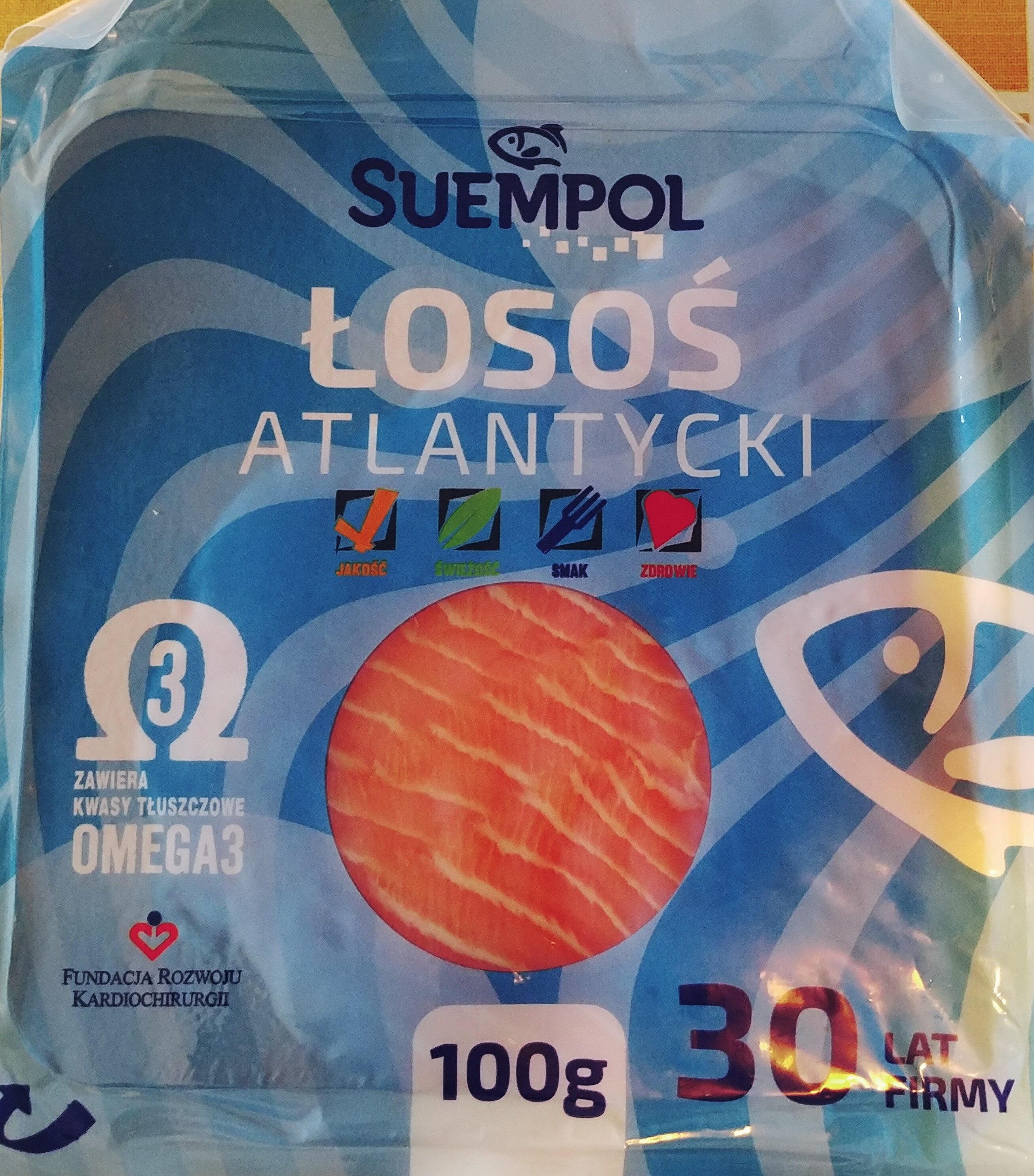 Łosoś atlantycki, wędzony na zimno, plastrowany - Produkt - pl
