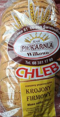 Chleb pszenno-żytni - Produkt - pl