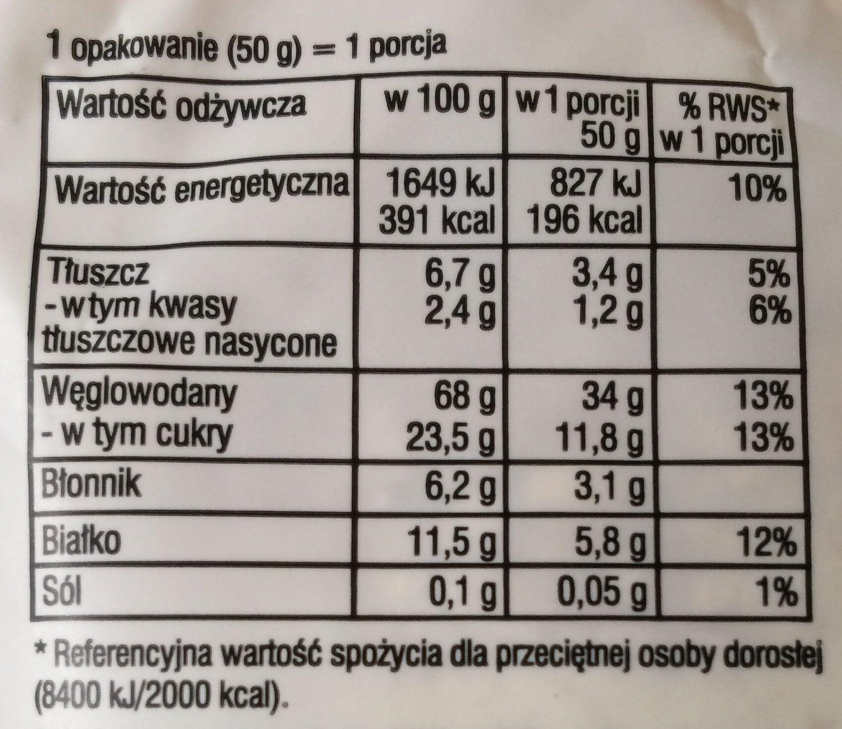 Owsianka - Wartości odżywcze - pl