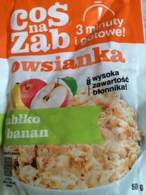 Owsianka z jabłkiem i bananem - Produkt