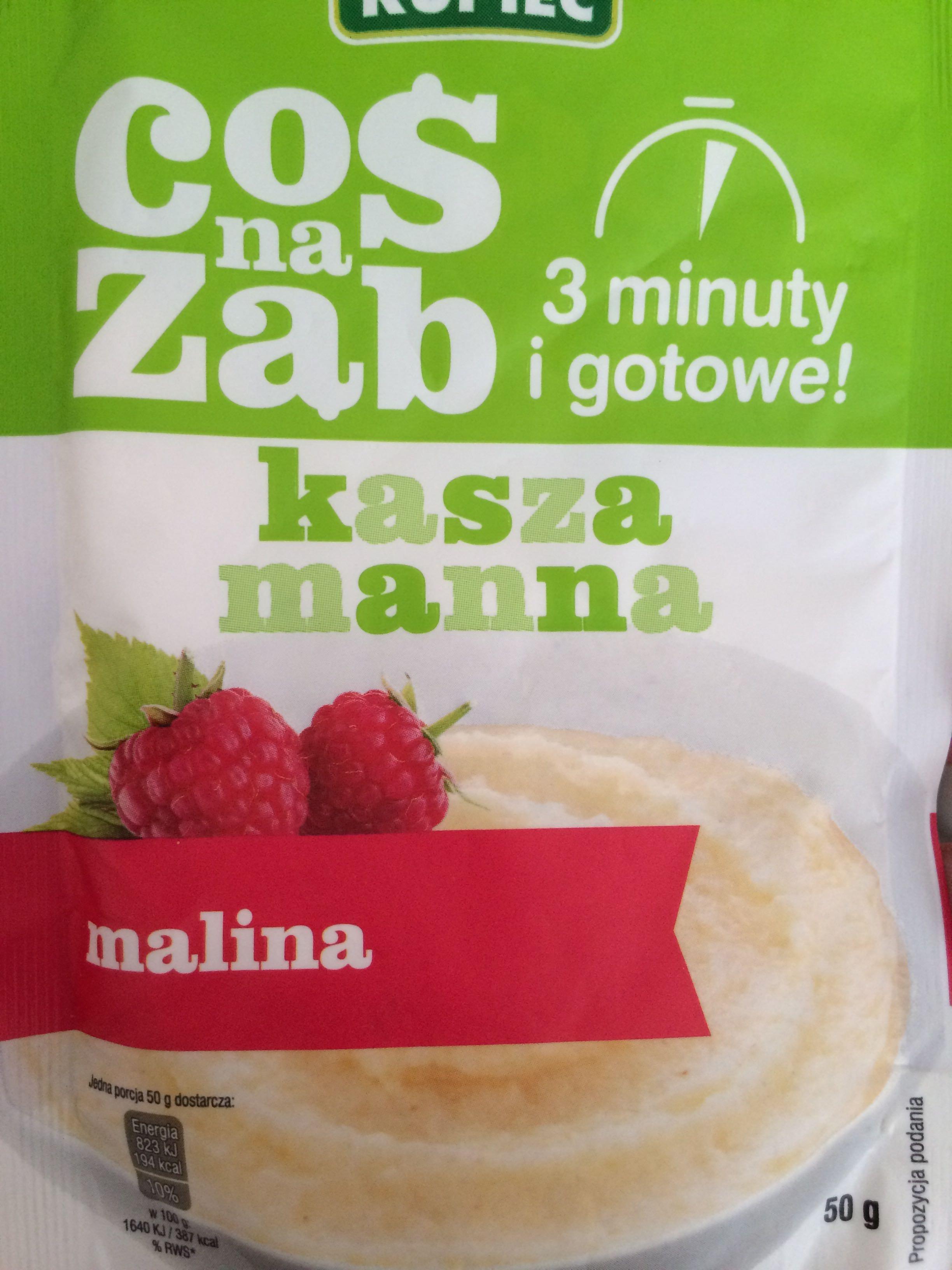 Kasza manna - Produkt