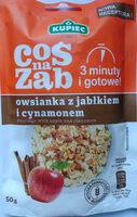 Owsianka z jabłkiem i cynamonem - Product - pl
