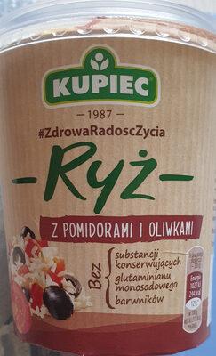 Ryż z pomidorami i oliwkami - Produkt - pl