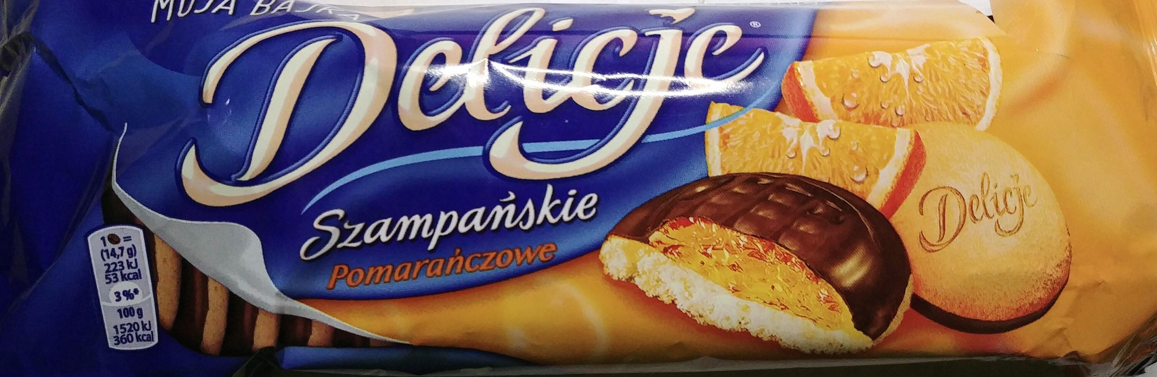 Delicje Szampańskie pomarańczowe - Product - pl