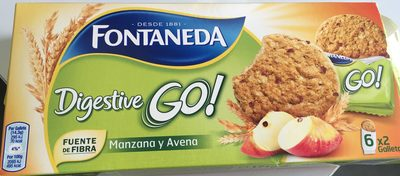 Digestive Go - Fontaneda - 171 Grammes (6x2galletas) - Producto - es