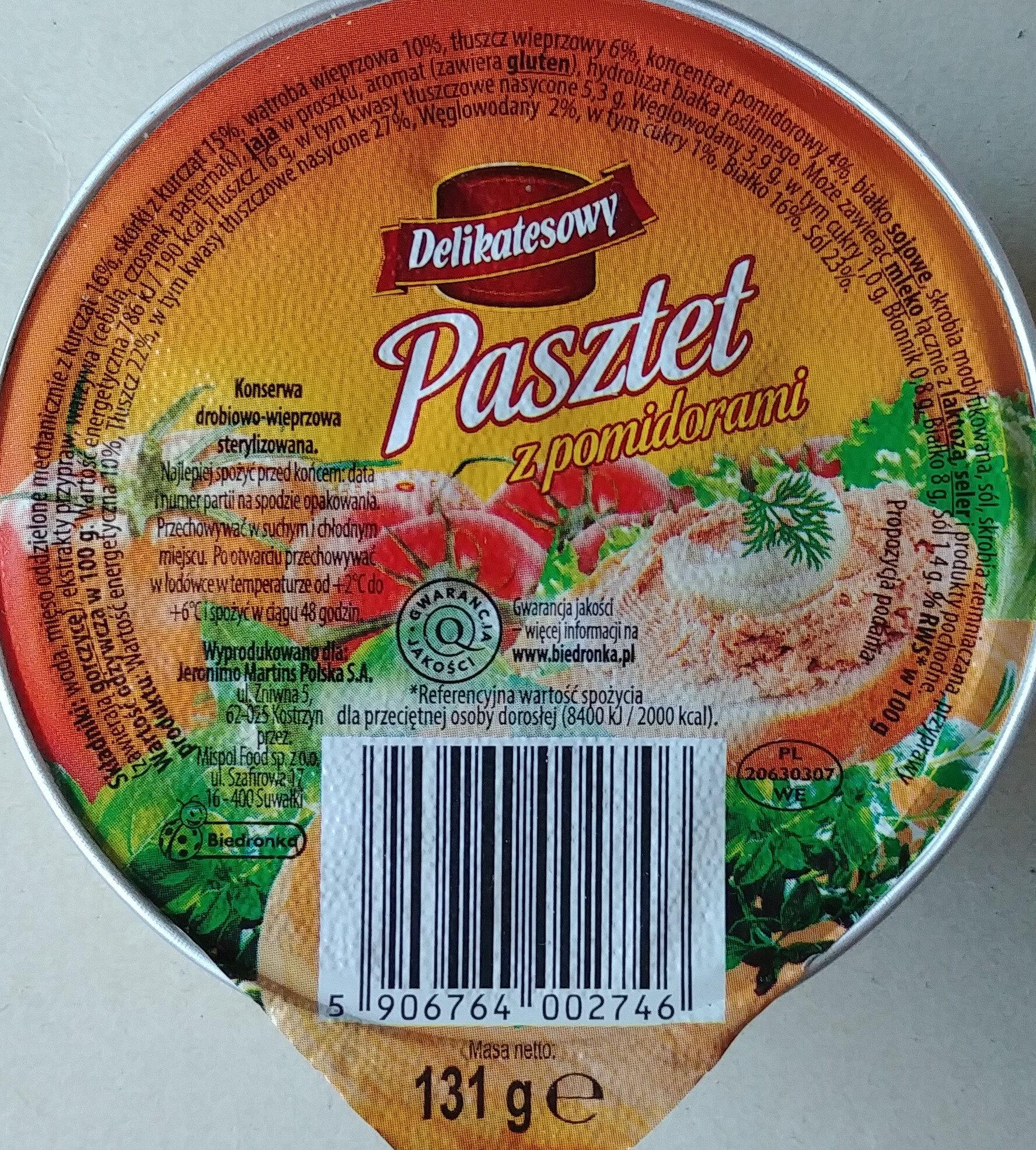 Pasztet z pomidorami - Produit - pl