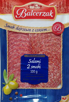 Salami 2 smaki. (Salami wytrawne, Salami) - Product - pl