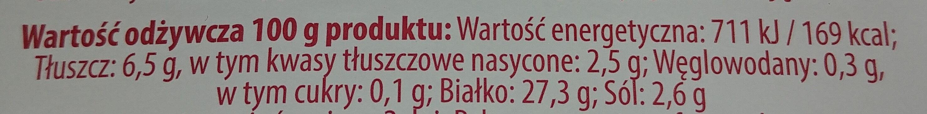Kiełbasa krakowska sucha - Voedingswaarden - pl