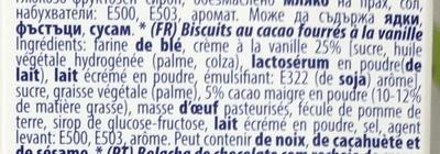 La Crema Black - Ingredients
