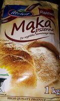 Mąka pszenna - razowa do chleba - Produit - pl