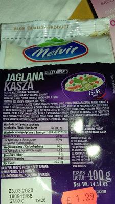 kasza jaglana - Product - pl