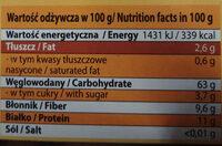 KASZA Orkiszowa Premium - Informations nutritionnelles - pl
