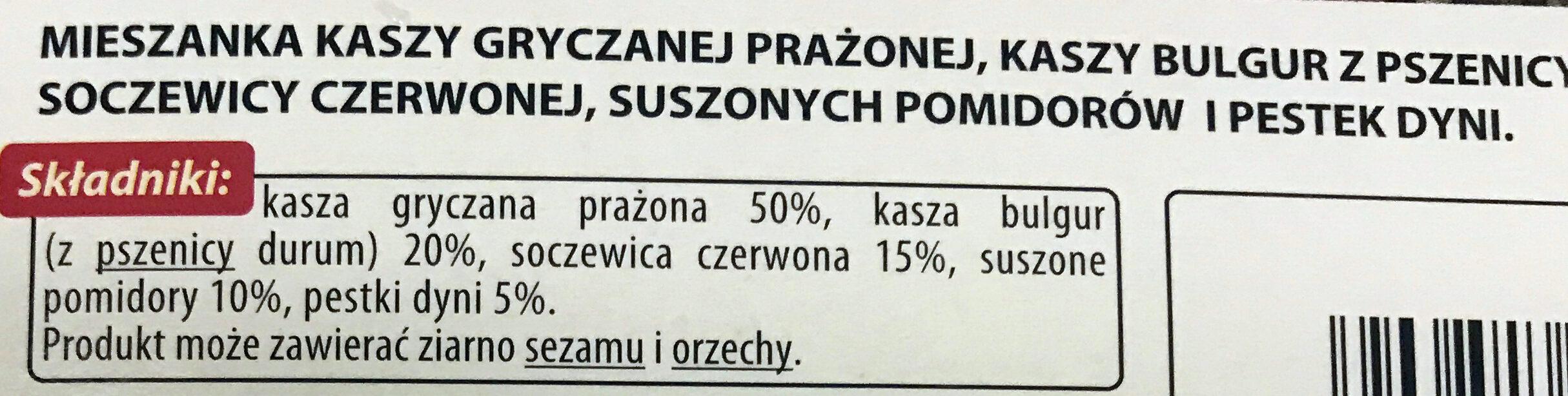 Kasza gryczana prażona - Ingredienti - pl